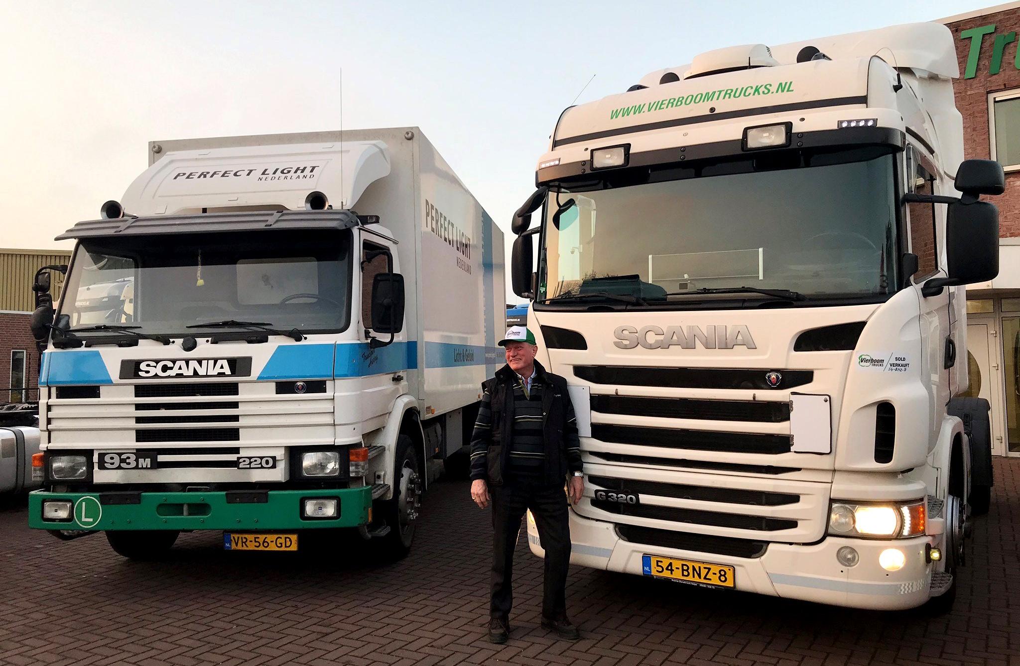 Met de vlam in de pijp: Goed de weg op met onze nieuwe vrachtwagencombinatie!
